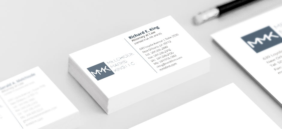 New orleans law firm clean website design modern lawyer layout new orleans lawyer stationary business cards branding graphic colourmoves