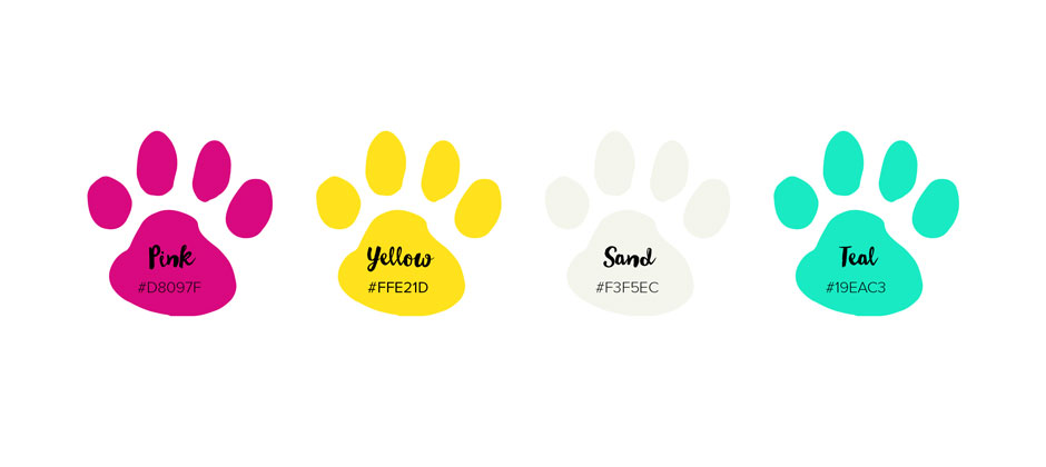 Branding-website-layout-design-pet-site-color-swatches-2