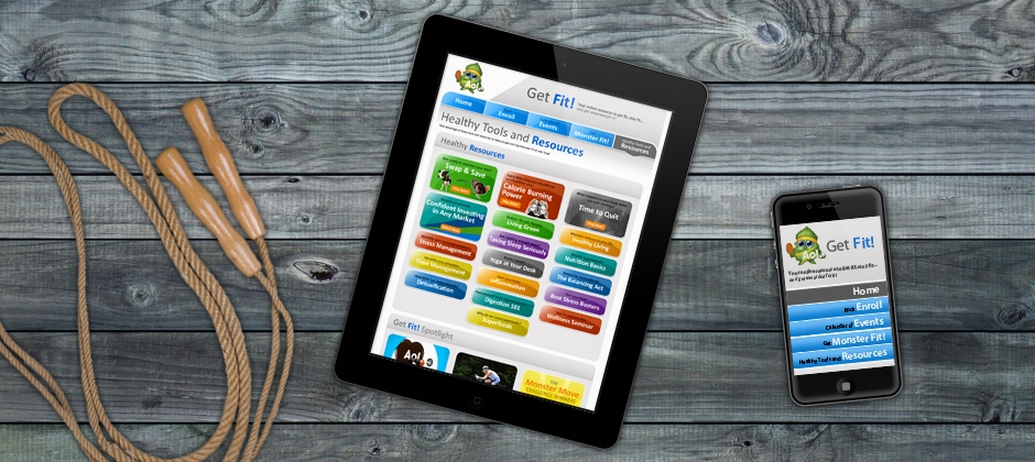 Aol-get-fit-ipad-iphone-web-design  large