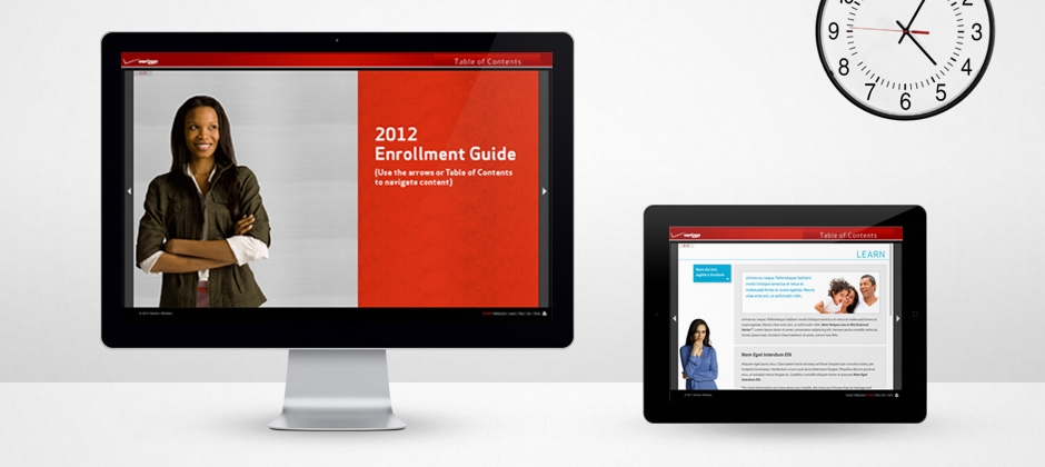 Verizon-communications-website-design-enrollment-guide-front-and-inside  large